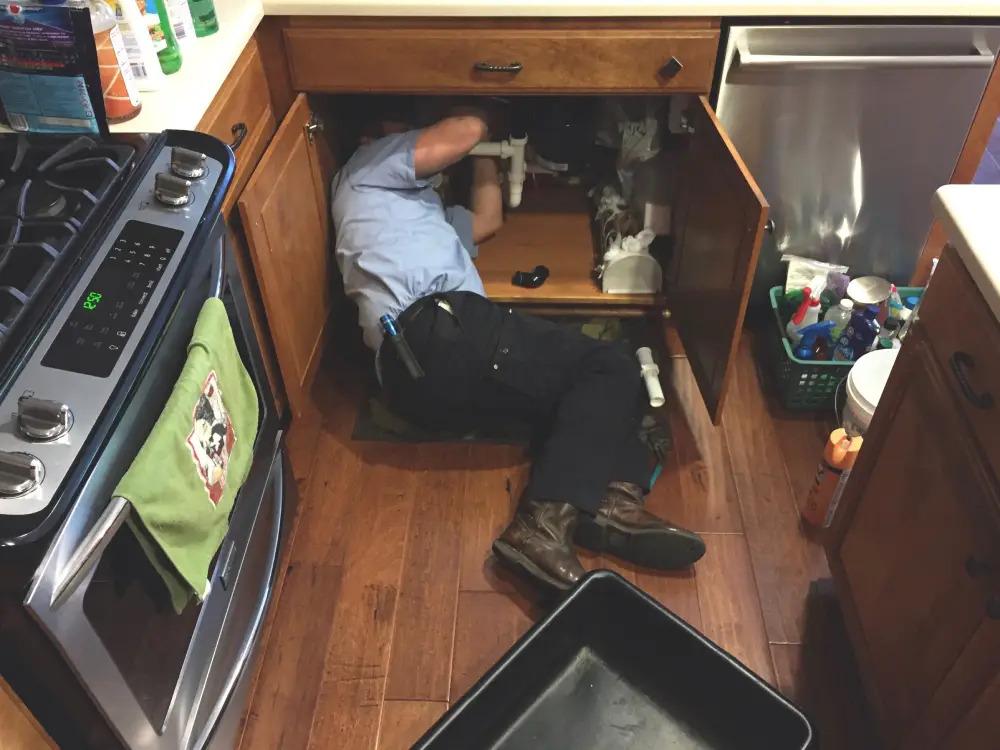Ambler plumber PlumbPRO Abington fixing kitchen sink